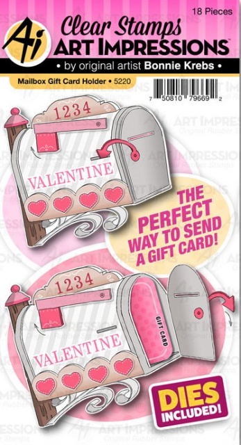 Mailbox Gift Card Holder/Stamps and Dies