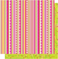 12x12 Double Sided-Sweetie Pie Stripes