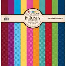 12x12 Bold and Bright Paper Pack