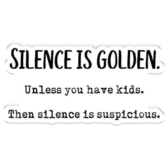 Silence Is Golden/Clear