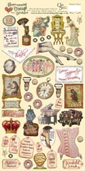 Heartwarming Vintage Stickers-Wonderful Women
