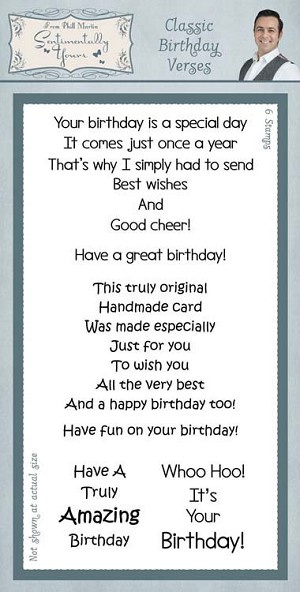 Classic Birthday Verses/Clear