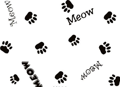 Cat Paw Background