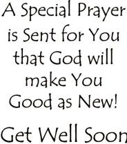 Get Well Prayer