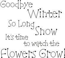 Goodybye Winter