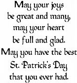 Great Joys Irish Blessing