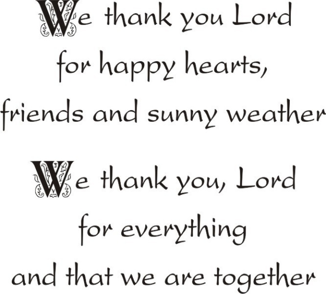 Thank You Lord Greeting