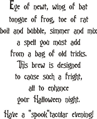 Witches Brew Halloween Greeting