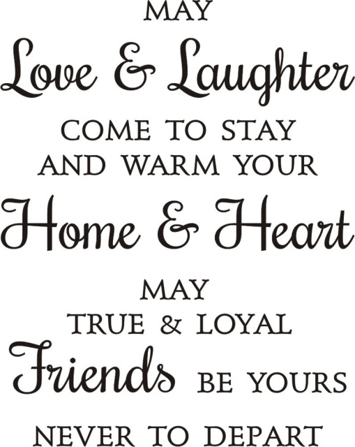 Love & Laughter Friends Greeting