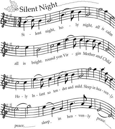 Silent Night Background