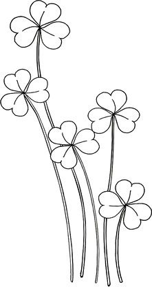 Tall Shamrocks