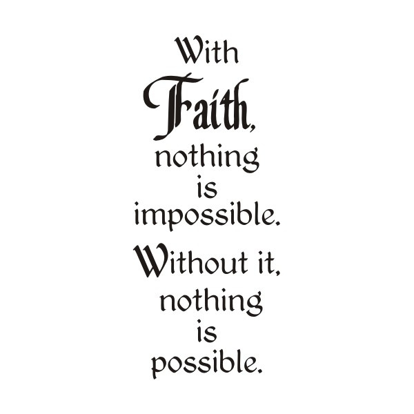 Impossible Faith Greeting
