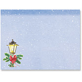 Winter Lamppost/A2 Envelope
