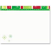 Holiday Stripe/A2 Envelope