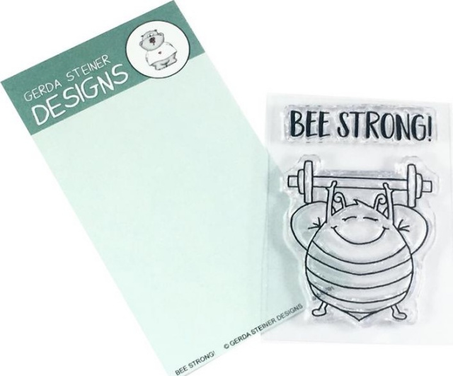 Bee Strong/clear