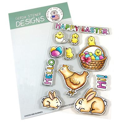 Chicks and Bunnies Stamp Set