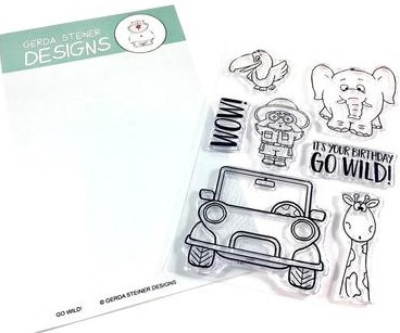 Go Wild Stamp Set/Clear