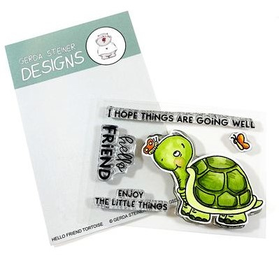 Hello Friend Tortoise Stamp Set