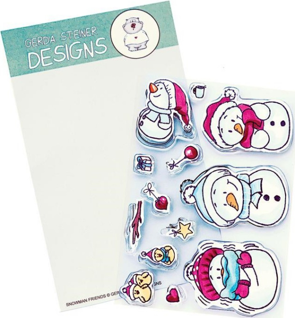 Snowman Friends/Stamp