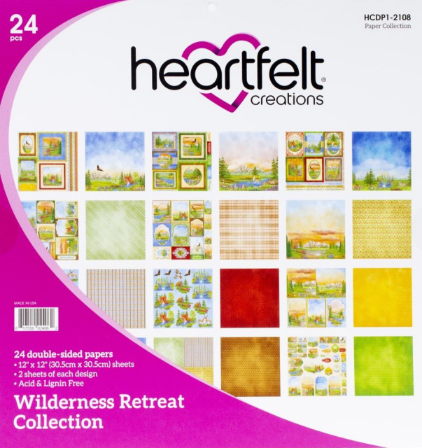 12x12 Wilderness Retreat/Paper Pack