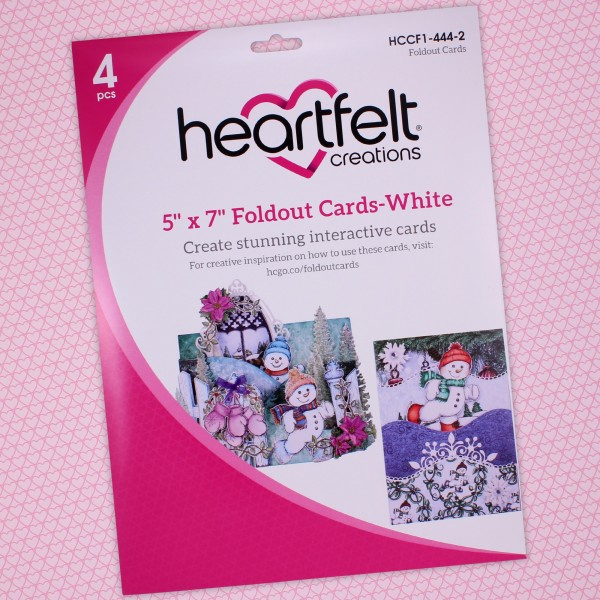 Foldout Cards White