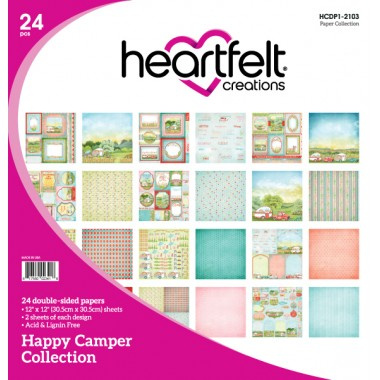 12x12 Happy Camper Paper Pack