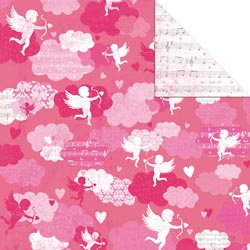 12x12 Double Sided Love Notes Dreamy