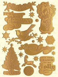 Evergreen Embossed Foil