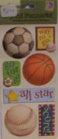 Tim Coffey Sports Embossed Stickers