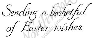 Sending A Basket Of Easter Wishes