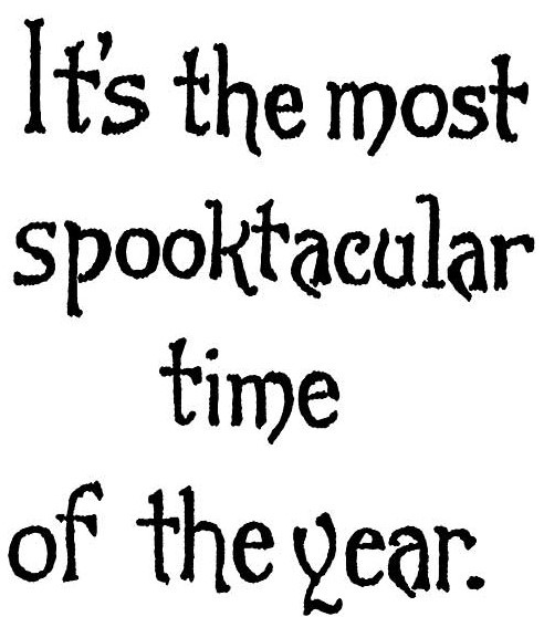 It's The Most Spooktacular