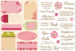 Flowers and Frills Tags & Phrases