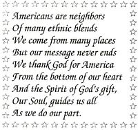 Americans Are Neighbors