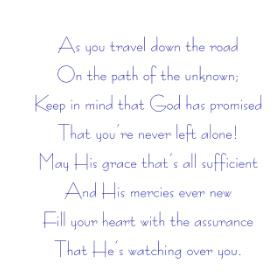 As You Travel/Cling