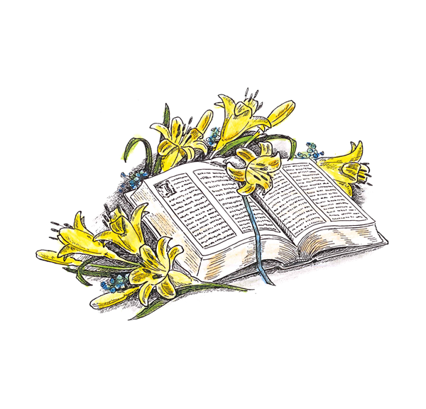 Bible and Lilies/Cling