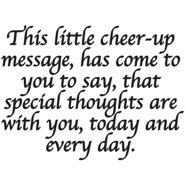 Cheer-up Message/Cling
