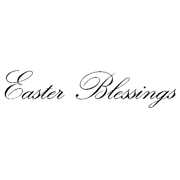 Easter Blessing/Cling