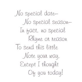 Special Date/Cling