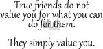 Friends Value You/Cling