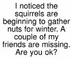 Nuts For Winter/Cling