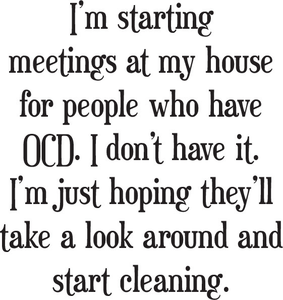 OCD Meeting/Cling