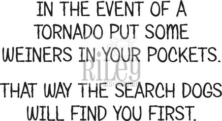 Tornado Advice/Cling