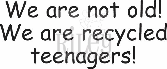 Recycled Teenagers/Cling