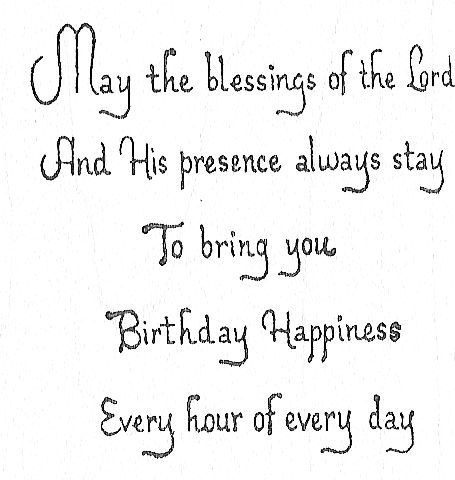 May The Blessing-Birthday