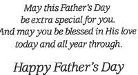 Father's Day Extra Special