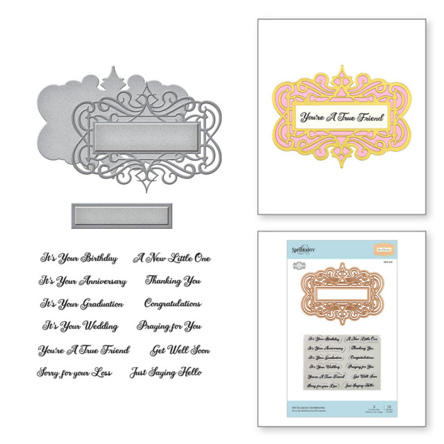 All Occasion Sentiments/Stamp and Dies