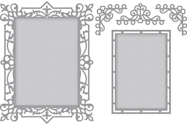 Callista Rectangle Shadowbox Frame