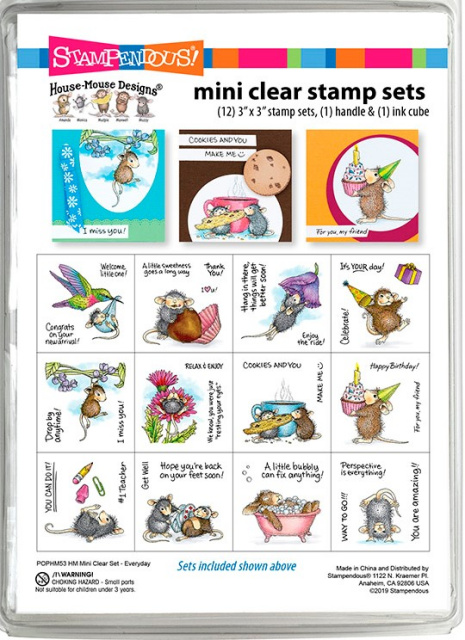 House Mouse Everday Mini Stamp Set