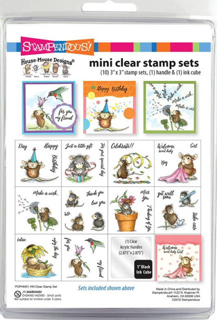 House Mouse Mini Stamp Set/Clear