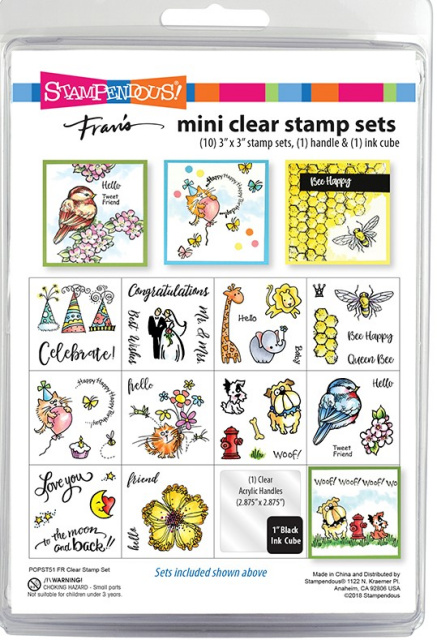 Mini Clear Stamp Set/Clear